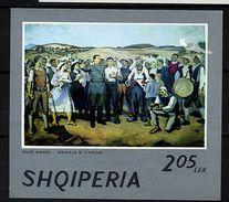 Albanie ** Bloc N° 29 - Tableau De G. Madhi - Albania