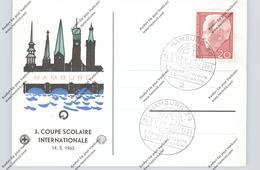 SCHULE - 3. Coupe Scolaire Internationale, 1965 Hamburg, Verkehrssicherheit, SHELL Sponsor - Schools