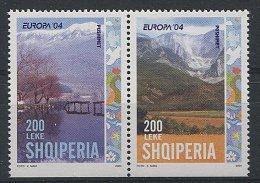 Lot 53 - B 19 - Albanie ** N° 2703 - 2704 Se Tenant - Europa - Année 2004 - Albania