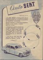 Instructions PAYA 1960s Auto SEAT 1.100 Con Cambio De Marcha Y Parada Automaticos 1:20 - En Espagnol - Boeken En Tijdschriften
