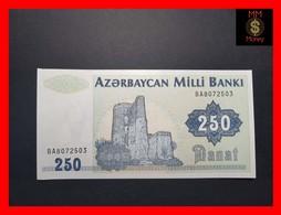 AZERBAIJAN 250 Manat 1992 P. 13 B UNC - Arzerbaiyán