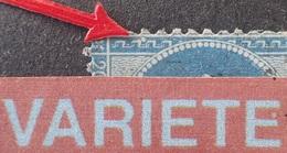 R1917/374 - NAPOLEON III - N°22 - VARIETE ➤➤➤ Gros Point Blanc Grecque Sud-ouest - 1862 Napoleon III