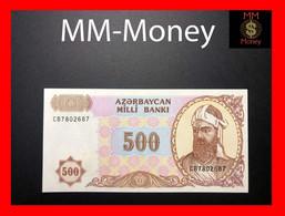 AZERBAIJAN 500 Manat 1993 P. 19 B UNC - Arzerbaiyán