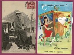 60 Cartes. Des Très Belles,des  Moyennes & Des Plus Petites.Lot N°020 Toutes Sont Scannées - Cartes Postales