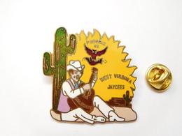 Beau Big Pin's En EGF , West Virginia Jaycees , Phoenix 92 , Cactus - Villes