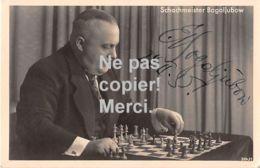 Schach - Chess - échecs - Signature - Schachmeister Bogoljubow - Unterschrift - 1935 - Echecs
