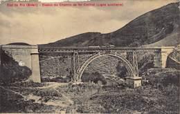 BRASIL Brazil - Etat De RIO Viaduc Du Chemin De Fer Central Ligne Auxiliaire Train Anno 1912 !    M 3572 - Brasil