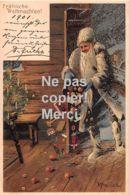 Fröhliche Weihnachten 1901 - Lithografie -  Mailick - Weihnachtsmann - Père Noël - Autres