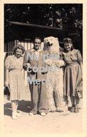 Carte Postale  - Photo - Montreur - OURS Blanc Déguisé - Bad Wörishofen En Allemagne - Photographie
