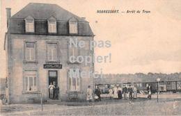Attert Nobressart - Arrêt De Tramway Et Cafe - 1917 - Top! - Attert