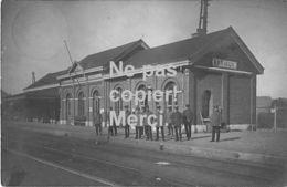 Durbuy Barvaux - Gare Avec Des Soldats Allemands - Carte Photo - 1915 - Top! - Durbuy