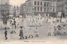 Péronne - Procession De La Fete-Dieu - 1914 - Peronne