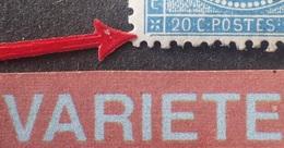 R1917/376 - NAPOLEON III - N°22 - GC 3219 : ROUEN - VARIETES ➤➤➤ Filet Brisé Coin S/O / 3 épines Blanches Sur Le Timbre - 1862 Napoleon III
