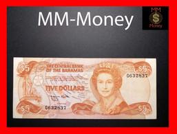BAHAMAS 5 $ 1984 P. 45 B VF+ - Bahamas