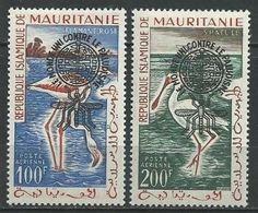 "Mauritanie Aerien YT 20A &20B (PA) "" Paludisme "" 1962 Neuf** - Mauritania (1960-...)"