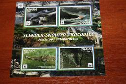 WWF  Ghana 2016  Rare Mini-block Reptiles - Reptilien & Amphibien