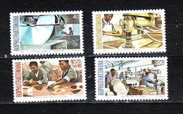 Bophuthatswana  - 1979. Lavorazione Di Pietre Preziose.Processing Of Precious Stones Complete MNH Series - Factories & Industries