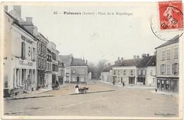 PUISEAUX : PLACE DE LA REPUBLIQUE - Puiseaux