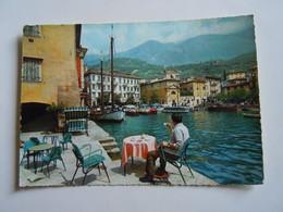 CPA-KP-PC- MALCESINE  LAGO DI GARDA  BAR CAFFE  VISTA LAGO - Bergamo
