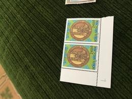 VATICANO CATTEDRALI BLOCCO 2 VALORI - Stamps