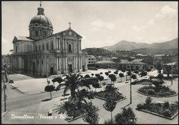 BARCELLONA (ME) PIAZZA E DUOMO 1956 - Messina