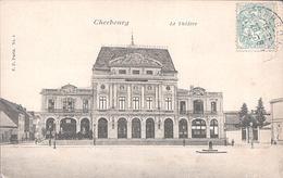 X3313 MANCHE CHERBOURG LE THEATRE - Cherbourg