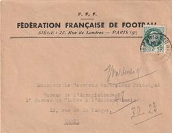 Enveloppe Fédération Francaise De Football - Collections