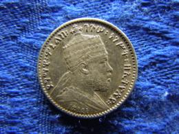 ETHIOPIA 1 GHERSH 1895/1903, KM12 - Ethiopie