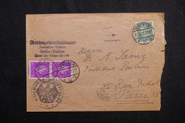 ALLEMAGNE - Affranchissement Plaisant Sur Enveloppe à Entête De Berlin Pour La France En 1931 - L 61736 - Storia Postale
