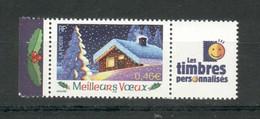 3533A Avec Logo Cérès Et Les Timbres Personnalisés - 2 Timbres Neufs** Sans Charnières Ni Traces - Personalizzati