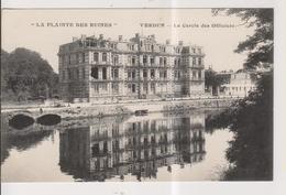 """CPA-55-Meuse- VERDUN- """"La Plainte Des Ruines""""- Le Cercle Des Officiers- - Verdun"""