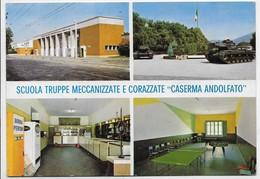 Santa Maria Capua Vetere (Caserta). Scuola Truppe Meccanizzate E Corazzate - Scritta Birra Peroni Su Frigorifero. - Caserta
