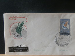 A13/023   FDC EGYPT 1959 - Lettres & Documents