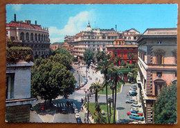 ROMA  Via Vittorio Veneto - Cars Auto  Cartolina 1966 Viaggiata - Transports