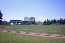 Mirecourt (88 - France) Stade Municipal - Stadiums