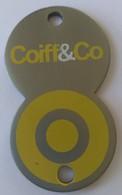 Jeton De Caddie - Coiff&co - En Métal - - Trolley Token/Shopping Trolley Chip