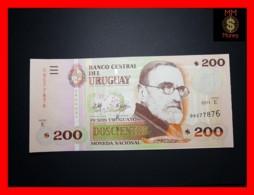 URUGUAY 200 Pesos Uruguayos 2011 P. 89 C  Serie E  UNC - Uruguay