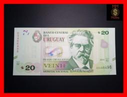 URUGUAY 20 Pesos Uruguayos 2015 P. 93  Serie G  UNC - Uruguay