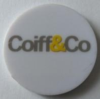 Jeton De Caddie - Coiff&co - En Plastique - - Trolley Token/Shopping Trolley Chip