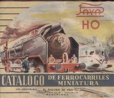 Catalogue Payá 1960 Ferrocarriles Electricos Miniatura HO - En Espagnol - Boeken En Tijdschriften