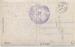Cachet Militaire : 13 ARLES - Guerre De 1939-45