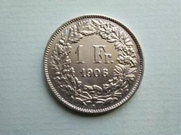 SUISSE   -  1  Franc  1906   -  Schweiz   -- SUP --   Switzerland - Schweiz