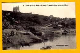 """Pont Aven   Le Rocher """"Le Soulier""""   Animation    EDT Artaud Nozais  N° 40 - Pont Aven"""