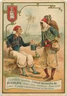 CHROMOS - ALCOOL DE MENTHE RICQLES - Old Paper