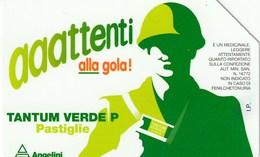 AAATTENTI ALLA GOLA - TANTUM VERDE - Publicité