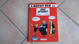 L'AGENT 212 T3 SENS INTERDIT   CAUVIN/KOX - Agent 212, L'