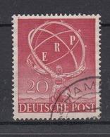 Berlin 71 Industrie Ausstellung Marshallplan 20 Pf Gestempelt /2 - [5] Berlin
