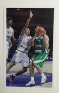 Slovenia Basketball Cards Stickers Nr.185 Slovenia : Ukraine  EUROBasket - Unclassified