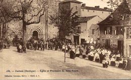 CADOUIN EGLISE ET PROCESSION DU SAINT SUAIRE - France