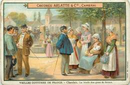 CHROMOS - CHICOREE ARLATTE & Co CAMBRAI - VIEILLES COUTUMES DE FRANCE - Old Paper